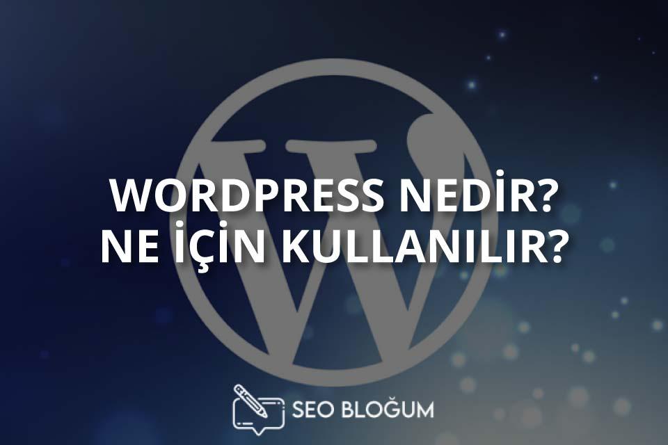 Wordpress Nedir Ne İçin Kullanılır